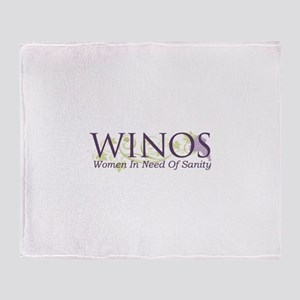 WINOS Throw Blanket