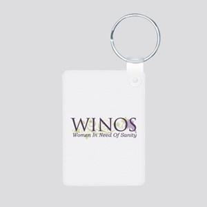 Winos Aluminum Photo Keychain Keychains