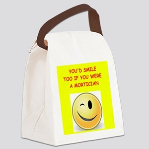 mortician Canvas Lunch Bag