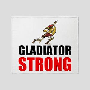 Gladiator Strong Throw Blanket