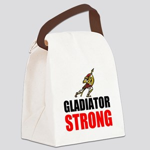 Gladiator Strong Canvas Lunch Bag