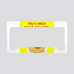 lab tech License Plate Holder