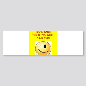 lab tech Bumper Sticker