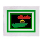 Biafra Throw Blanket