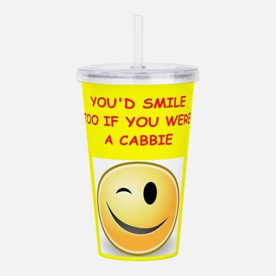 cabbie Acrylic Double-wall Tumbler