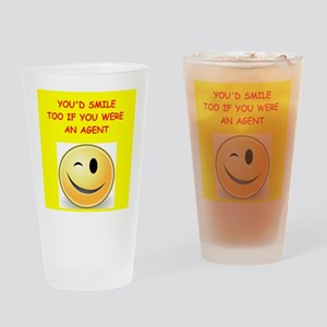 agent Drinking Glass