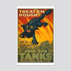 TANK CAT poster 11x17