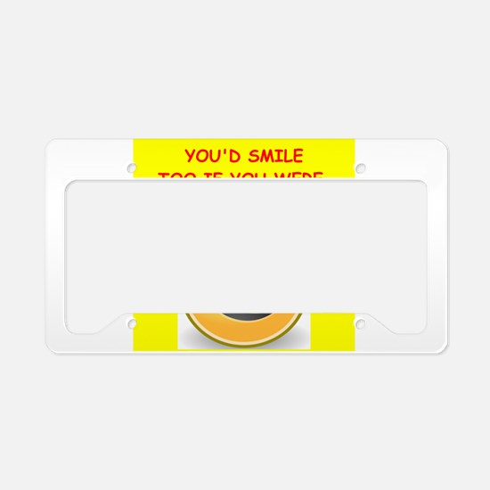 actress License Plate Holder