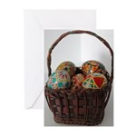 Pysanky Basket Greeting Cards (Pk of 10)