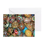 Pysanky Group 2 Greeting Card