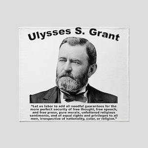 Grant: Freedom Throw Blanket