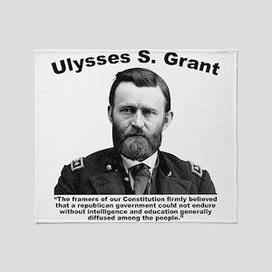 Grant: Education Throw Blanket