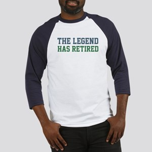 The Legend Has Retired Baseball Jersey