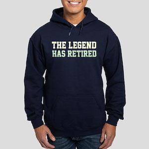 The Legend Has Retired Hoodie (dark)