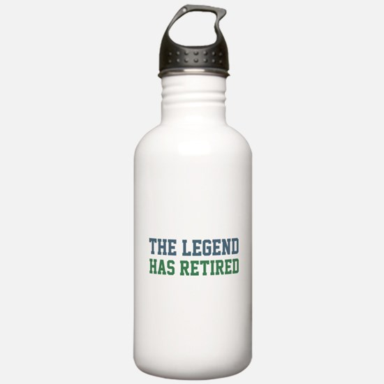 The Legend Has Retired Water Bottle