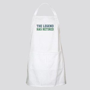 The Legend Has Retired Apron