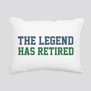 The Legend Has Retired Rectangular Canvas Pillow