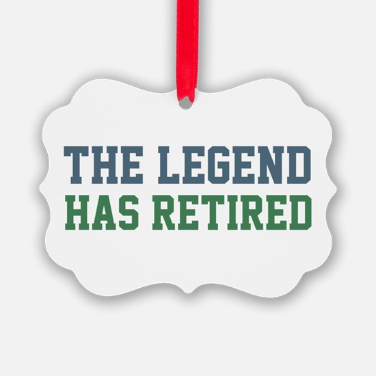 The Legend Has Retired Ornament
