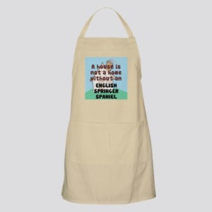 English Springer Home BBQ Apron