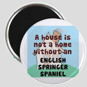 English Springer Home Magnet