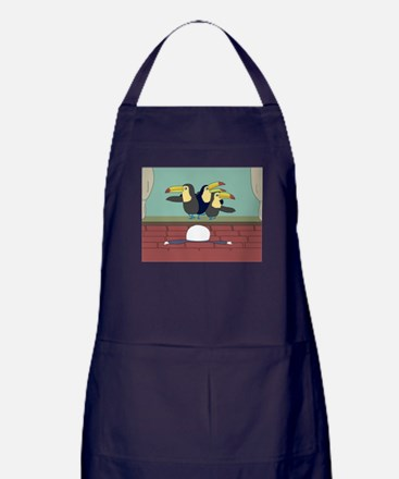 Let's sing and dance! Apron (dark)