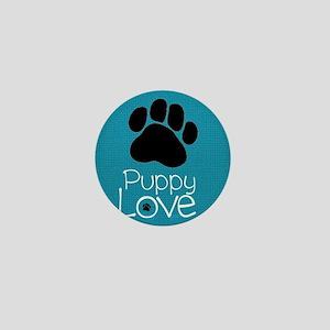 Puppy Love Mini Button
