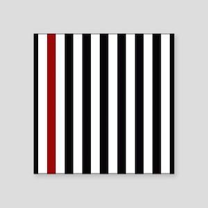 With A Red Stripe Sticker