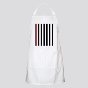 With A Red Stripe Apron
