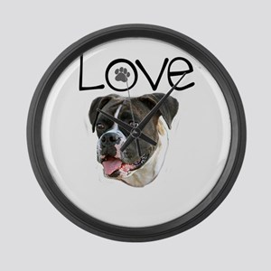 Love Boxer Large Wall Clock