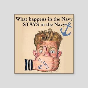 In the Navy Sticker