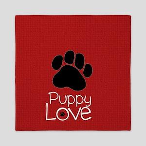 Paw Puppy Love Queen Duvet