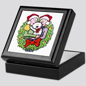 Westie Family Christmas Keepsake Box