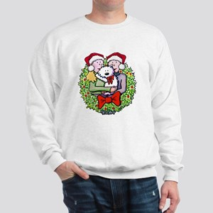 Westie Family Christmas Sweatshirt