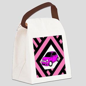 Fiat Abarth 500C  Canvas Lunch Bag