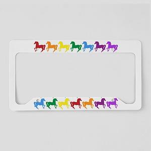 Horses License Plate Holder