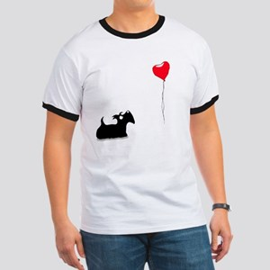 Scottie Dog Ringer T