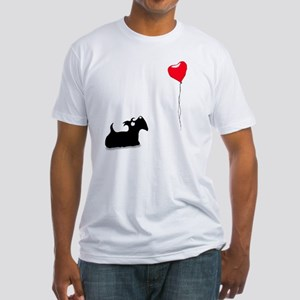 Scottie Dog Fitted T-Shirt