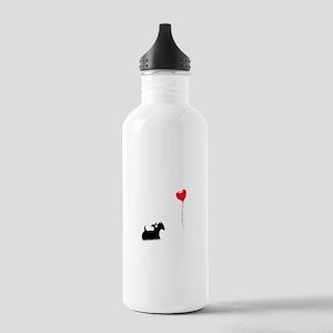Scottie Dog Stainless Water Bottle 1.0L