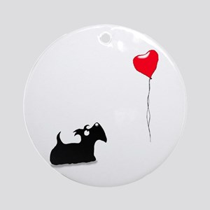 Scottie Dog Ornament (Round)
