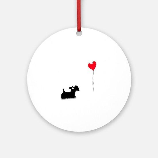 Scottie Dog Ornament (Round)