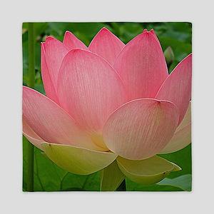 Sacred Lotus Flower Queen Duvet