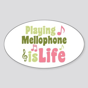 Mellophone is Life Sticker