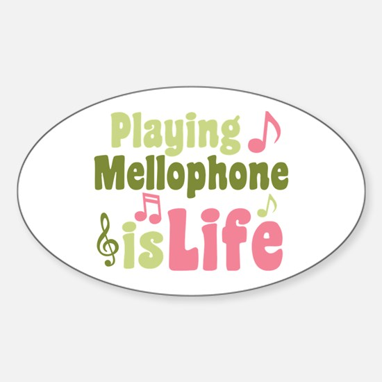 Mellophone is Life Decal