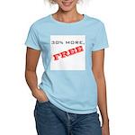 30% More, FREE Women's Light T-Shirt