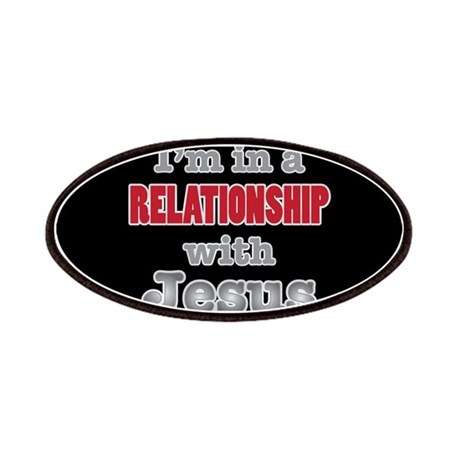 Relationship With Jesus Patch