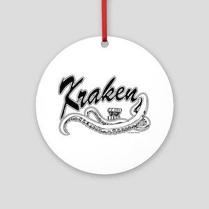 Kraken @ eShirtLabs.Com Ornament (Round)