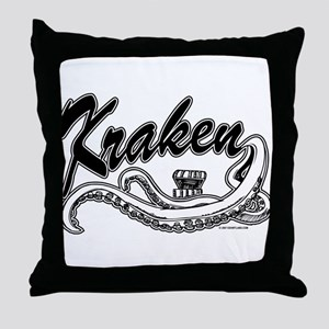 Kraken @ eShirtLabs.Com Throw Pillow