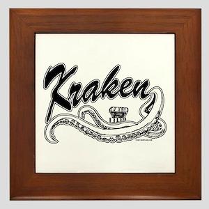 Kraken @ eShirtLabs.Com Framed Tile