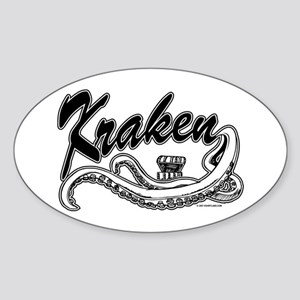 Kraken @ eShirtLabs.Com Oval Sticker