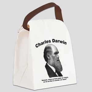 Darwin: Animals Canvas Lunch Bag